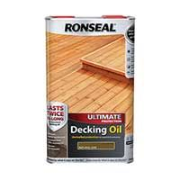 Ronseal Ultimate Protection Decking Oil | Perfect Finish Everytime