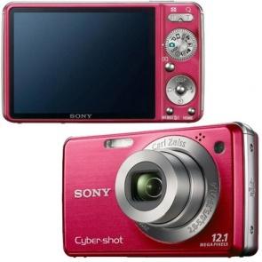 Sony Cybershot DSC W230 Red