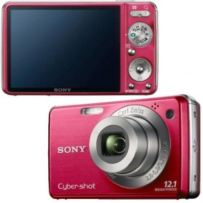 Sony Cybershot DSC W230 Red