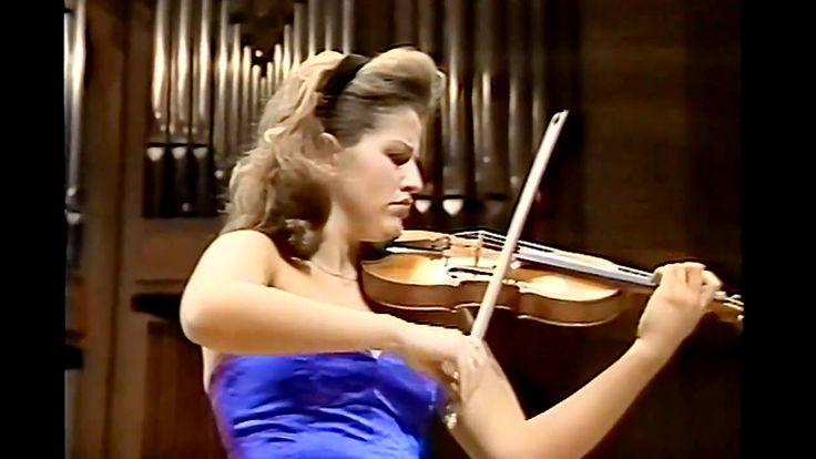 Beethoven Violin Concerto-3mov (4/4) Seiji Ozawa& Anne-Sophie Mutter Bos...