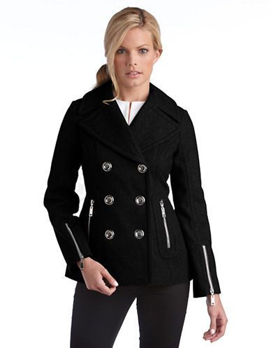 $240, Miss Sixty Wool Pea Coat. Sold by Lord