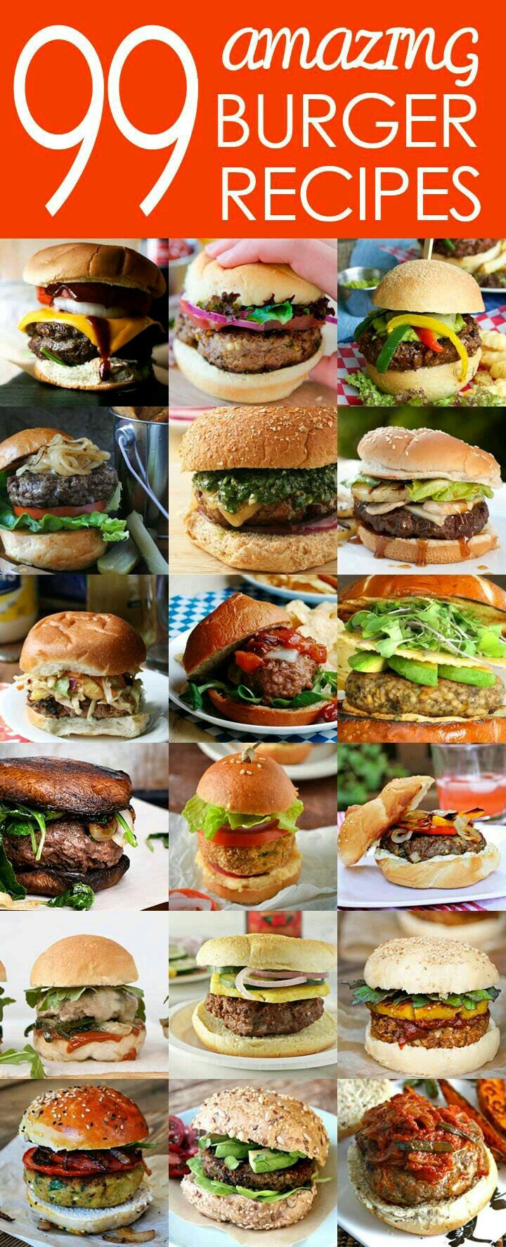 50 best Burger ❤ images on Pinterest | Beverage, Cook and Creative ...