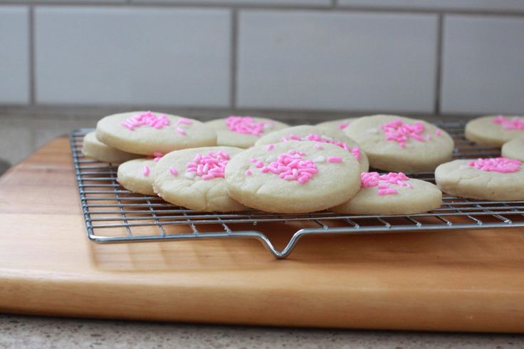 Super Simple Sugar Cookies and A Surprise Shower for Stephanie!