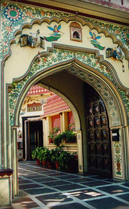 Arched doorway -India