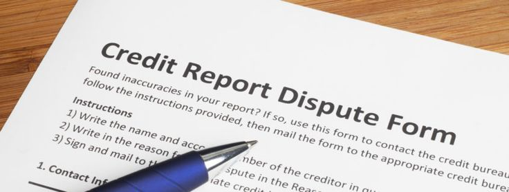 Credit Report Dispute Score Form Credit Law Center Pinterest - credit check release form