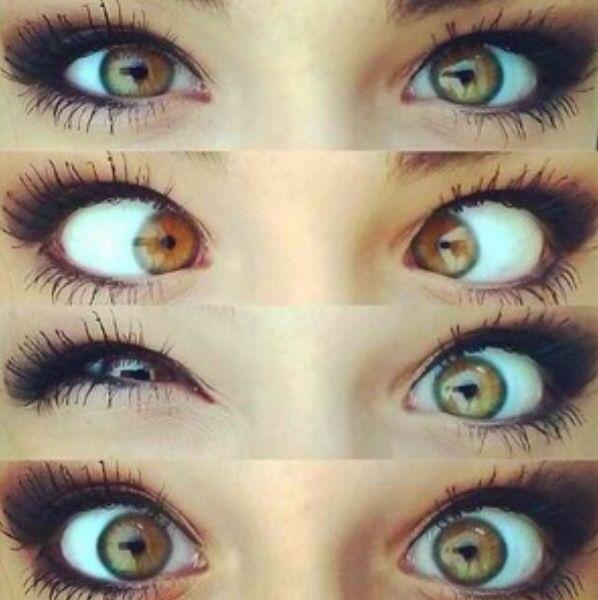 Hazel eyes   Fancy huh...