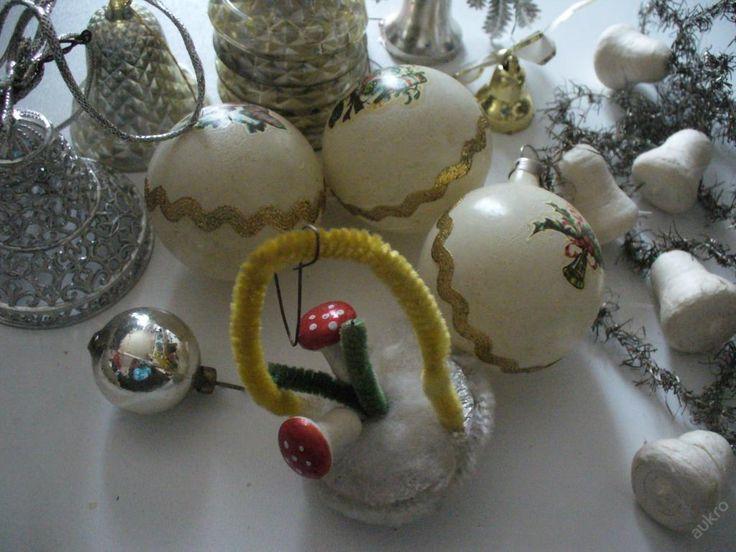 Starší vánoční ozdoby (5693980591) - Aukro - největší obchodní portál