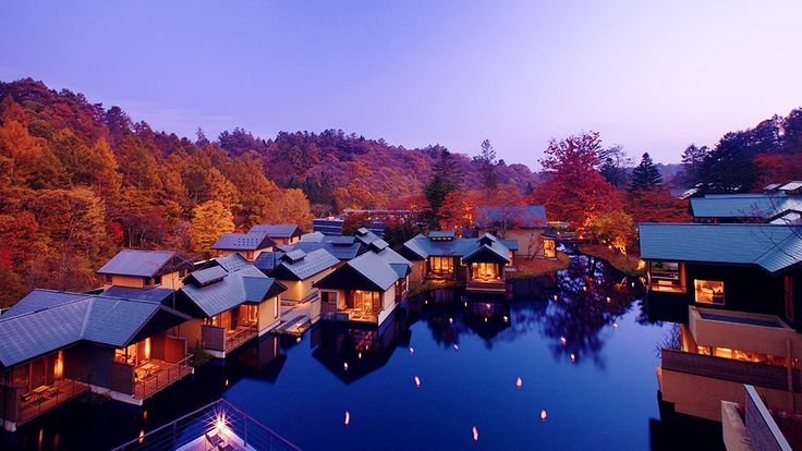 HOSHINOYA Karuizawa: A hidden idyll shaped by nature. The quintessential resort experience. In every beautiful locale in every country, there is a resort that offers personal space and time of unparalleled luxury and food and service that convey the highest level of hospitality, all infused with the local culture and natural environment. This is the experience prmised by HOSHINOYA.