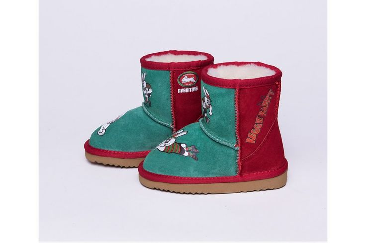 Souths Sydney Rabbitohs Kids Uggs