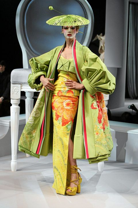 Art catwalk christian dior couture design fabulous Japanese clothing designers