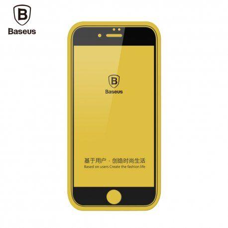 De ce sa nu comanzi Folie sticla 3D Baseus Silk Screen Apple iPhone 7 alba cand l-ai gasit pe iNowGSM.ro la un pret bun?