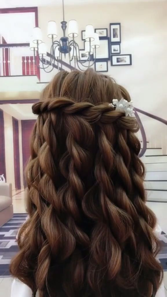 15 Simple And Easy To Learn Hair Style Video For Busy Women In 2019 Hair Styles Long Hair Styles Short Hair Styles