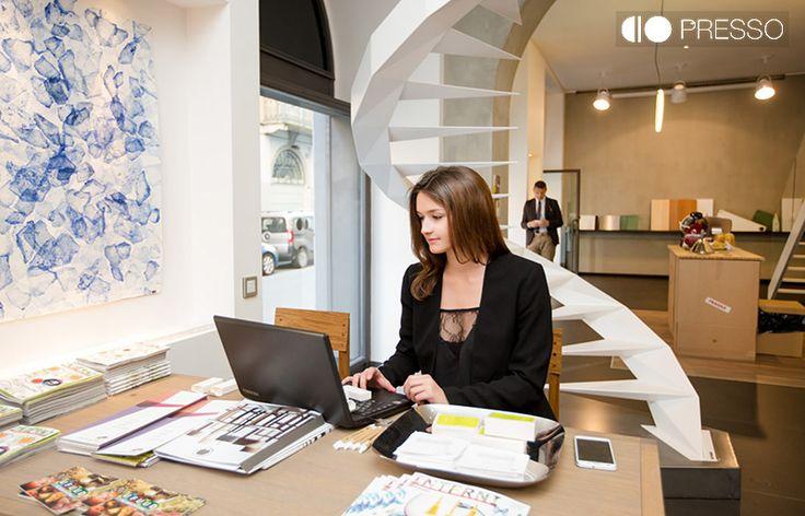 Irene Magagnoli con Fontanot, Imaginarea by  PRESSO - Porta Nuova Milano www.presso.it