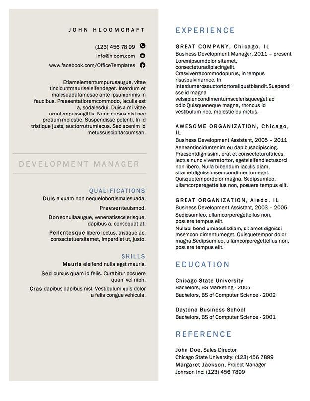 69 Best Images About Resumé Examples On Pinterest