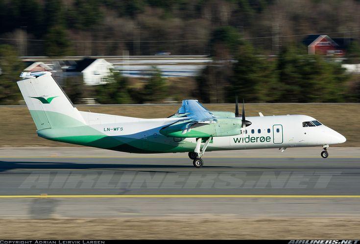 Wideroe De Havilland Canada DHC-8-311Q Dash 8  Kristiansand - Kjevik (KRS / ENCN) Norway, March 12, 2014