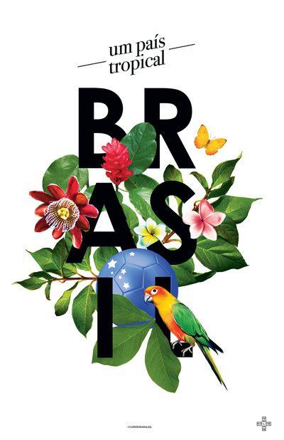 BRASIL Flora - CAPOEIRA RULES Art Print
