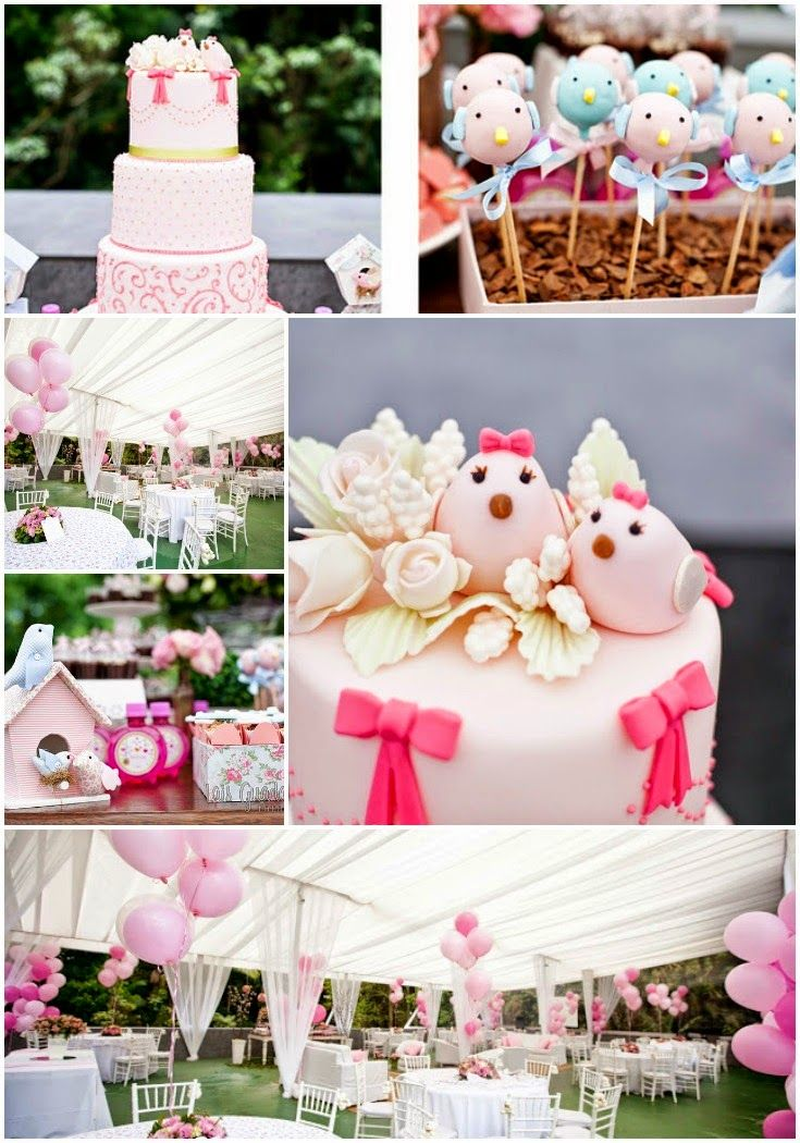 25 best ideas about twin first birthday on pinterest for Baby girl birthday party decoration ideas