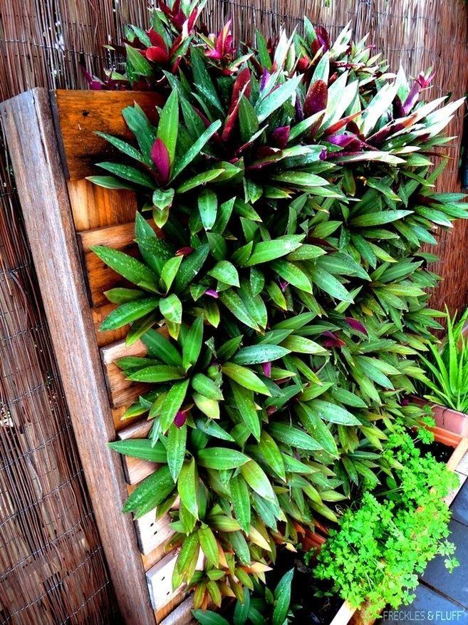 Vertical palette garden from Freckles & Fluff