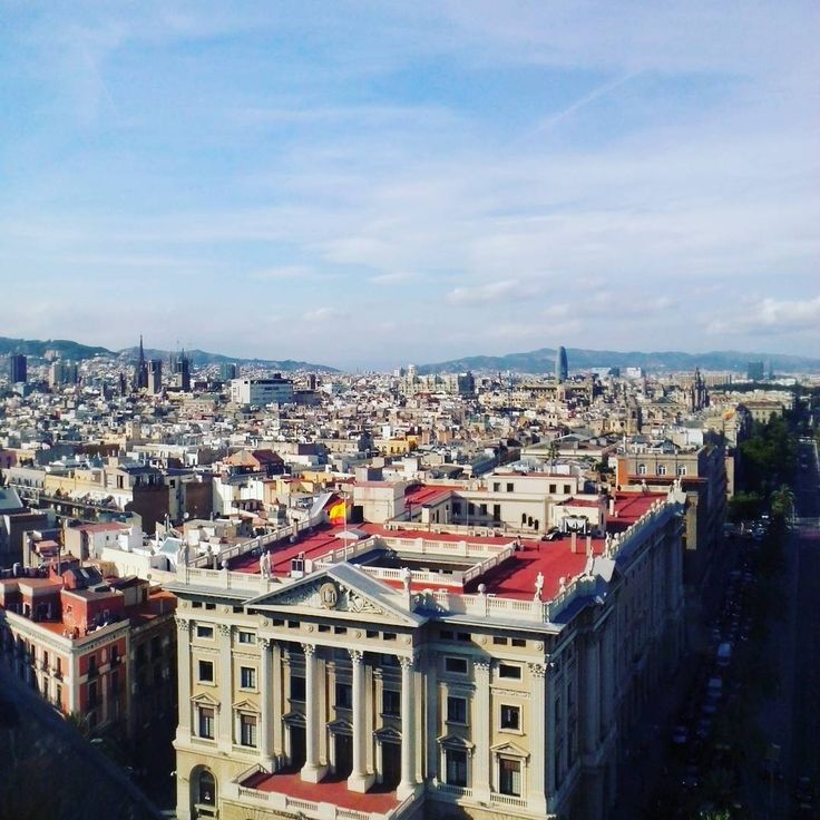 View from Torre Colom #barcelona
