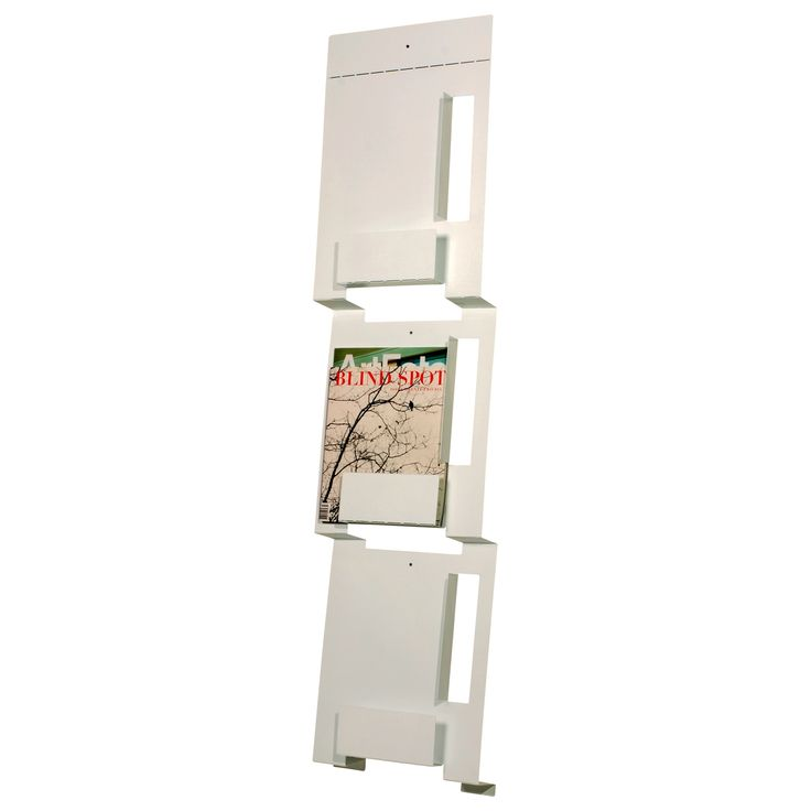 2d3d wall mount magazine rack nice for master bath