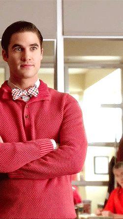 Blaine Anderson glee Darren Criss