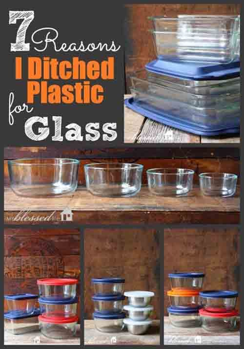 7 Reasons To Ditch Plastic For Glass Food Storage Containers - LivingGreenAndFrugally.com