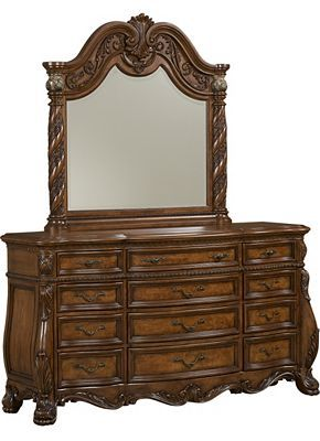 Havertys Villa Clare Dresser With Mirror Dream Home
