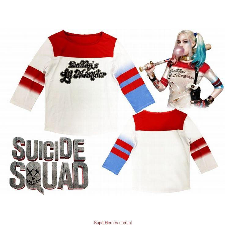 Koszulka Harley Quinn - Daddy's Lil Monster