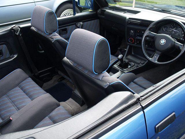 BMW 318I Convertible   BMW 318i Convertible Cockpit - 1983   Flickr - Photo Sharing!