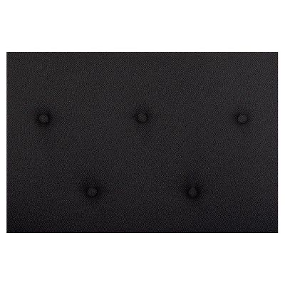 Premium City Linen Queen Futon - Black - Dhp