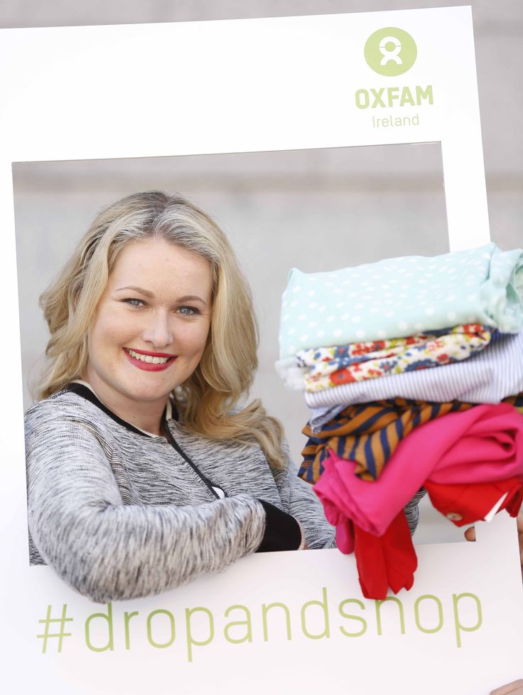 Here's stylist Lorna Claire Weightman supporting our new ‪#‎dropandshop‬ campaign. For every bag of donations you drop at Oxfam we'll give you 15% off when you shop that same day.  More info here: https://www.oxfamireland.org/dropandshop