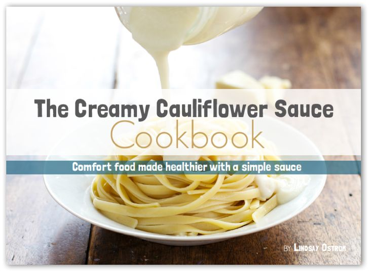 This creamy cauliflower sauce is a hit! Perfect for pasta, pizza, or anything else you might want to cover in white cauliflower creamy deliciousness.