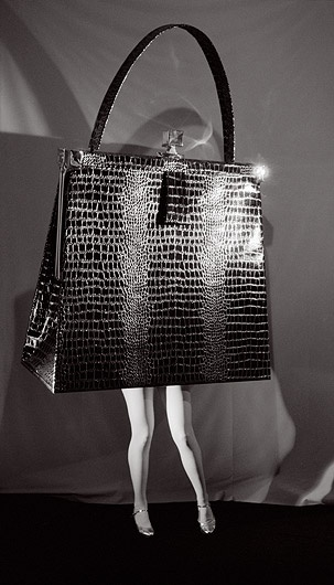 walking purse - laurie simmons