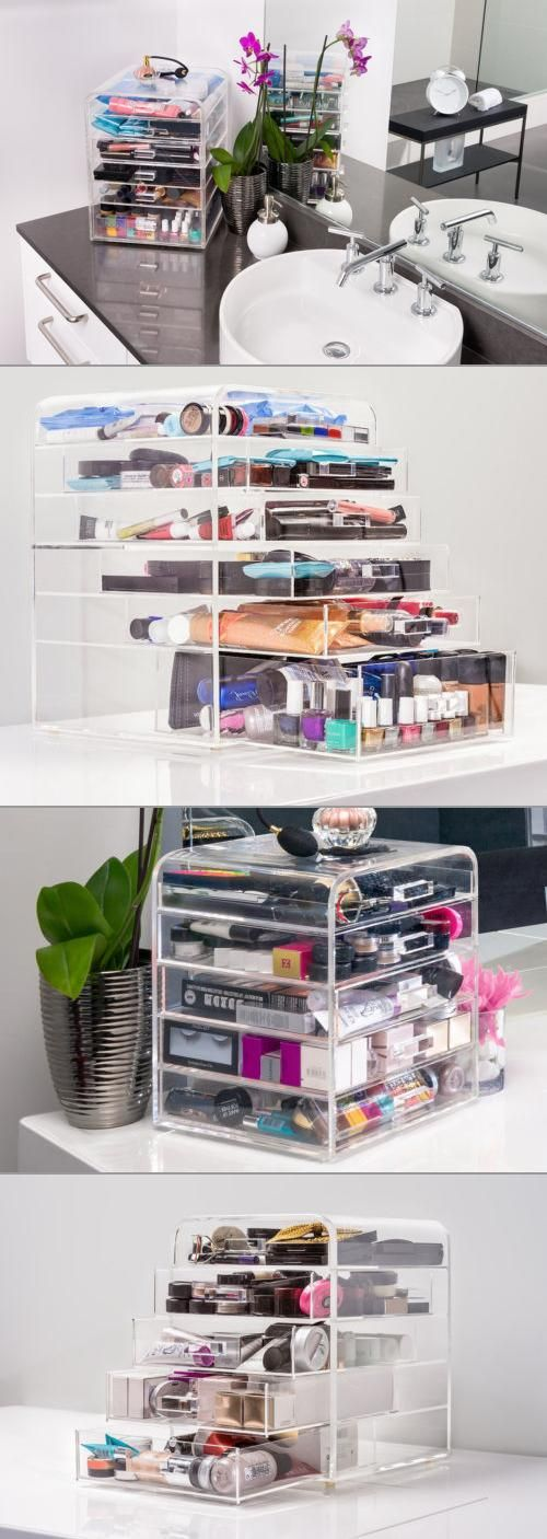 25 best ideas about makeup storage drawers on pinterest. Black Bedroom Furniture Sets. Home Design Ideas