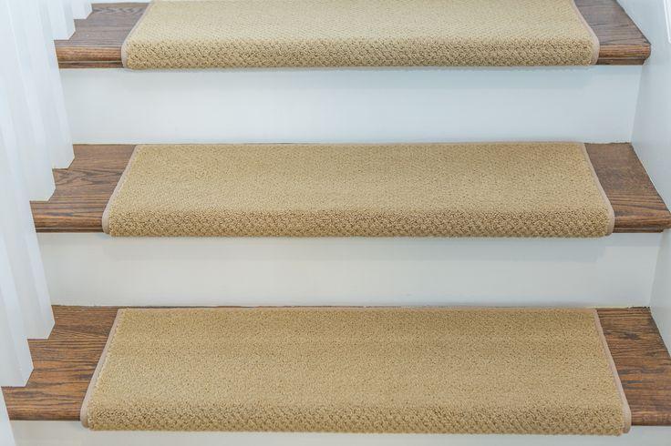 Warwick Adhesive Bullnose Carpet Stair Tread Man Cave