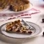 Cherry and Hazelnut Custard Tart