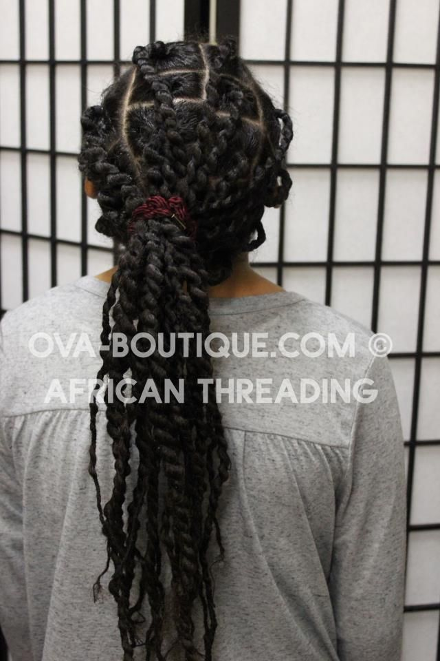 Beyonce braids, African threading and Poetic justice ...