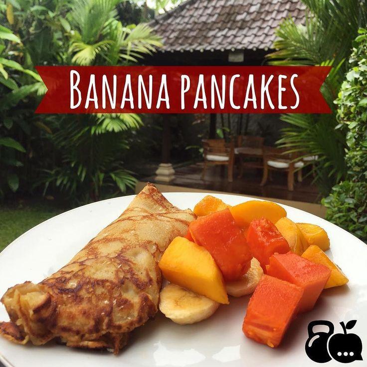 Pancakes de plátano  rellenas de coco deshidratado con fruta ahorita les mando la receta!  #bali #pancakes #platano #salud #saludable #delicioso #desayuno #comida #cena #comesano #comebien #desayunofit #desayunosaludable #cenafit #fitness #nutricion #health #healthcoach #avena #oats #smoothie #healthy #healthyeating #eatclean #eathealthy #receta #healthylife #healthylifestyle #cdmx