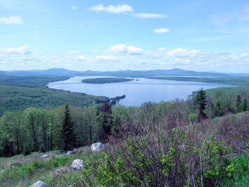 Height of Land in Maine