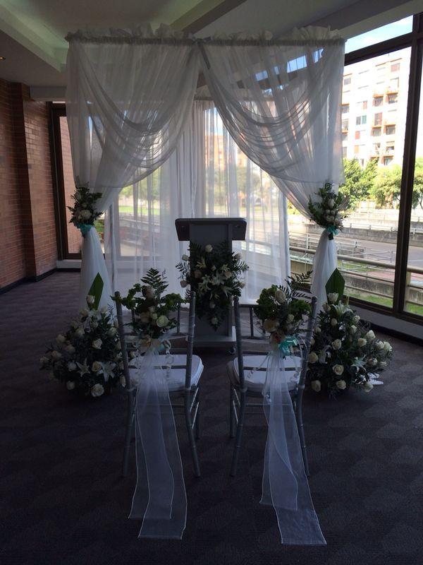 Capillas para bodas civiles o católicas con @afeventos