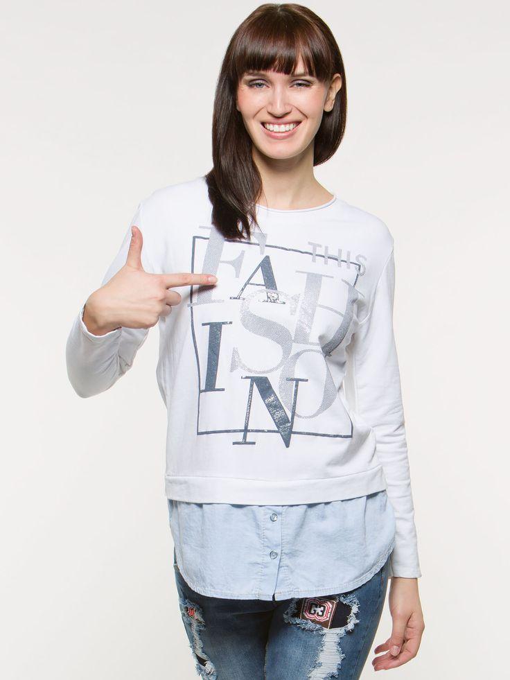 Bluza Fashion - już kupiłam. Świetna wysokogatunkowa bawełna!