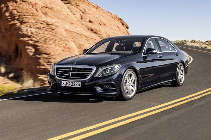 Beauty and Beast! The New S-Class!