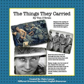 best the things they carried images the things the things they carried literature guide