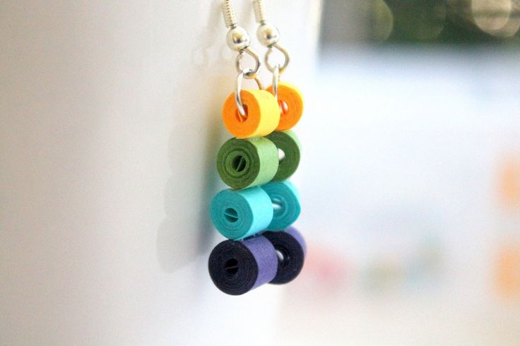 paper quilling earrings - Google Search