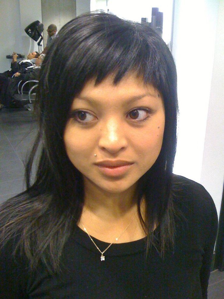 Astounding 1000 Ideas About Choppy Side Bangs On Pinterest Japanese Short Hairstyles For Black Women Fulllsitofus