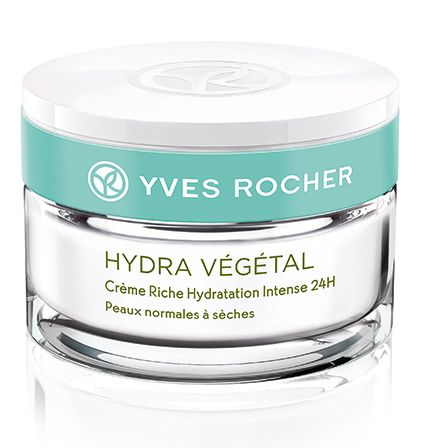 Yves Rocher's Hydra Vegetal Line - 24H Rich Hydrating Cream