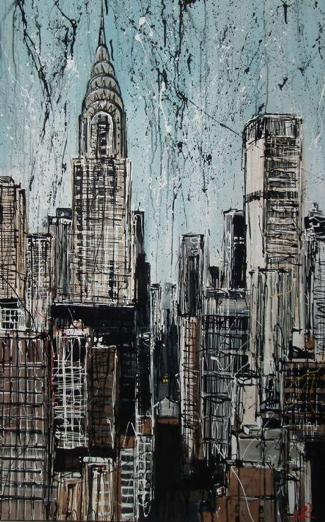 New York Cool - Original by Paul Kenton £3950