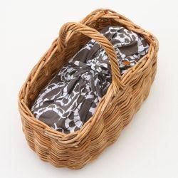 【アラログアーチバスケット】インテリアを引き立たせる手編みのカゴ。スタイルストア