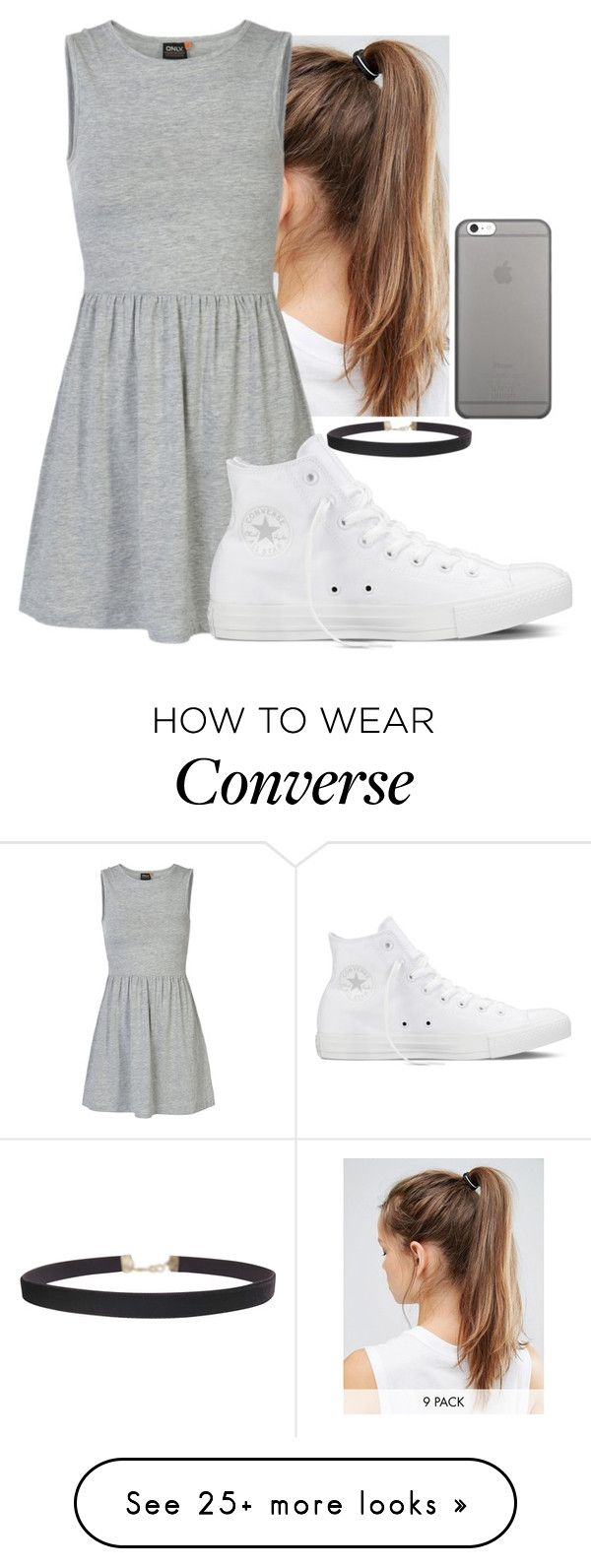 """""""Summer love❤"""" by hannahmcpherson12 on Polyvore featuring NIKE, ONLY, Converse, Humble Chic and Native Union"""