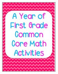 This 180 page NO prep bundle includes a year of first grade Common Core math worksheets and activities! Save 20% (4.00) by purchasing the bundle!